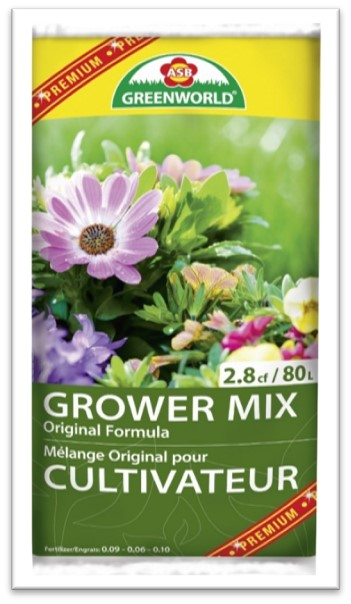 80 litres professional growers mix
