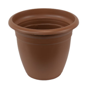 plastic terracotta pot