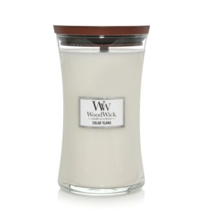 candle solar ylang scent