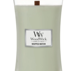 candle whipped matcha scent