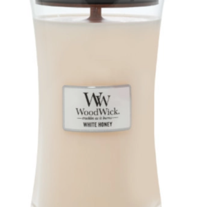 candle white honey scent