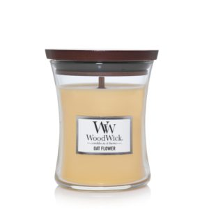 candle oat flower scent