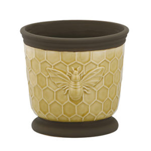 Bumble Bee Ceramic Planter