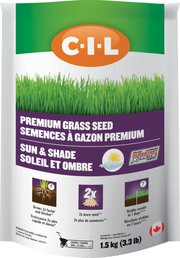 C-I-L Sun & Shade Grass Seed with SureStart Xtreme