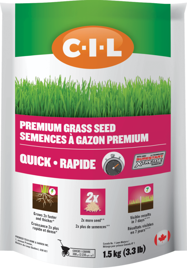 C-I-L Quick Grass Seed with SureStart Xtreme