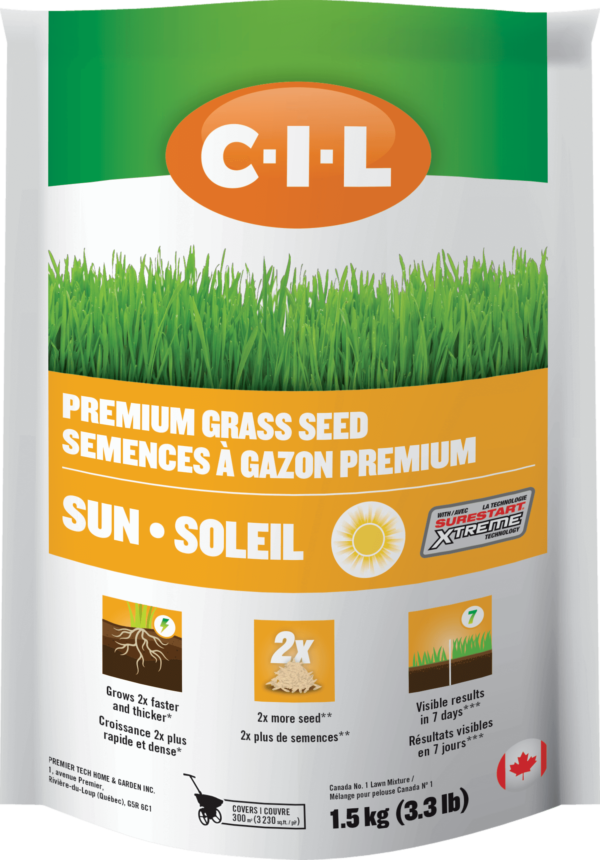 C-I-L Grass Seed With SureStart Xtreme Sun