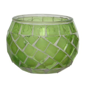 mosaic citronella candle