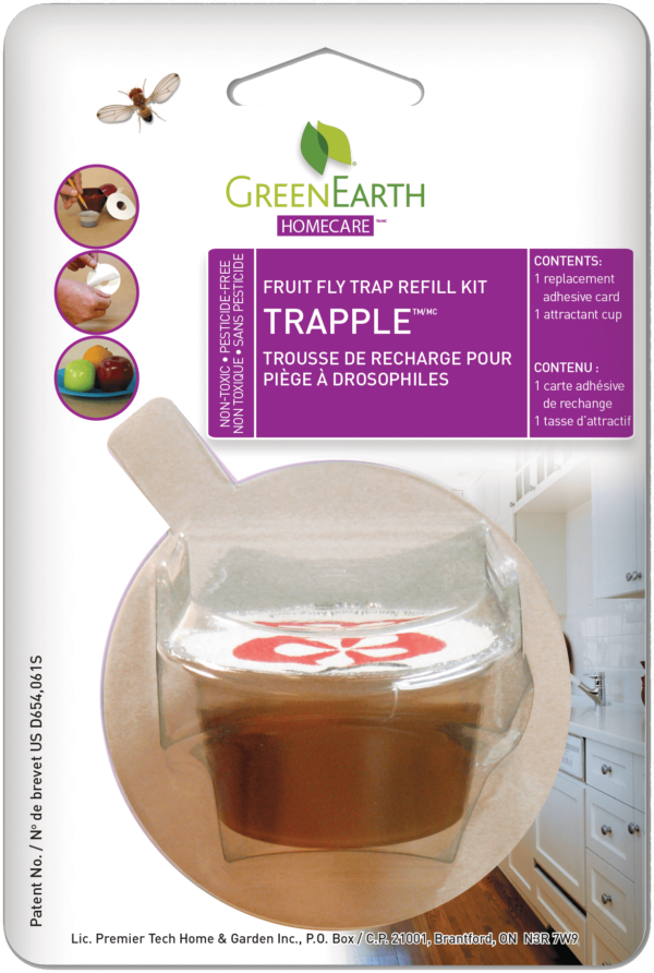 GREEN EARTH Trapple Fruit Fly Trap Refill