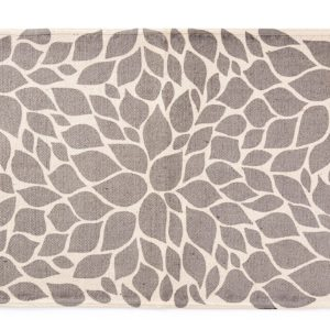 grey off white area rug